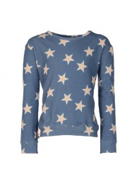 KIE-stone sweater blue star
