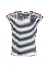 KIE-stone t shirt blue stripe