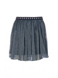 KIE-stone skirt tule blue
