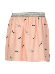 KIE-stone skirt peach bird
