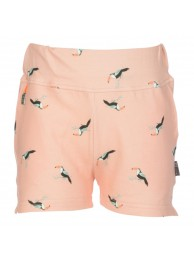 KIE-stone short peach bird